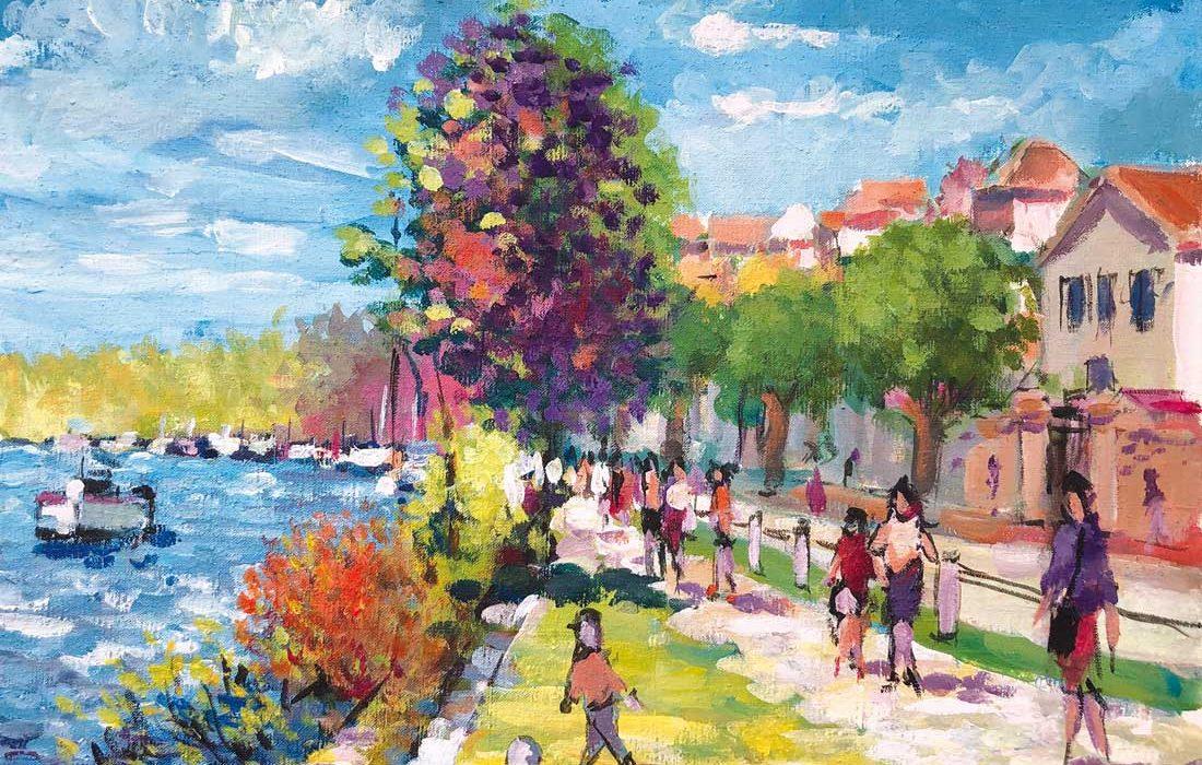 Promenade à la Frette sur Seine