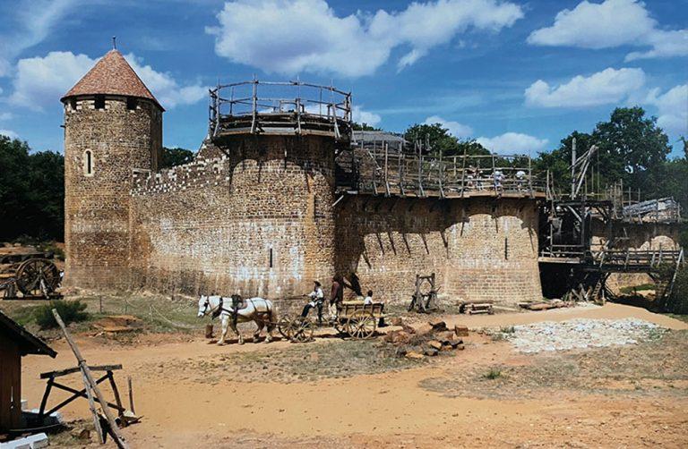 """Château de Guédelon"" - Photo originale"